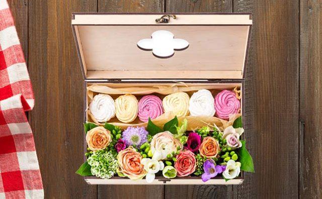Arreglos florales- cajas de flores