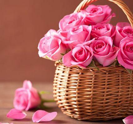 Arreglos florales - canasta de flores
