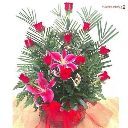 Arreglos florales para el día del cariño con entrega a domicilio